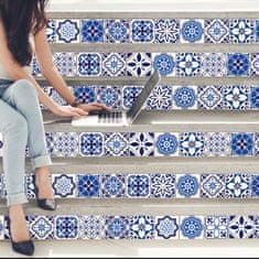 Walplus Samolepky na zeď španělské a marocké dlaždice