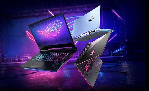 Notebook Asus ROG Strix G15 (G513QC-HN009) S 15,6 palcov široká konektivita práce, hry, zábava