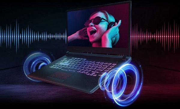 Notebook Asus ROG Strix G15 (G513QC-HN009), 15,6 full hd ips displej, Harman/Kardon zvuk, stereoreproduktory