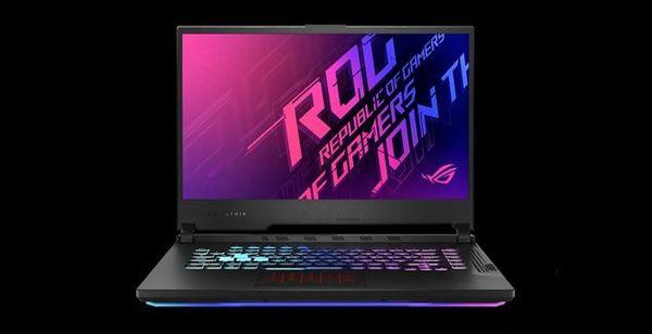 Notebook Asus ROG Strix G15 (G513QC-HN009) touchpad, komfort, zdvih klávesnice, odolnosť