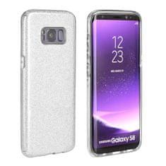 FORCELL Shining szilikon tok Huawei P Smart 2019, ezüst