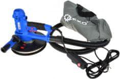 Brúska na sádrokartón 800 W priemer 190 mm suchý zips LED osvetlenie 360°