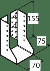 DOMAX Trámová papuča - WBZ 22