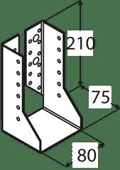 DOMAX Trámová papuča - WBZ 29