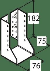 DOMAX Trámová papuča - WBZ 25