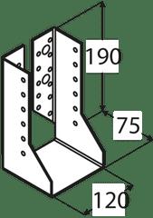 DOMAX Trámová papuča - WBZ 36