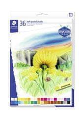 """Staedtler Pastelové křídy """"Design Journey"""", sada, 36 barev"""