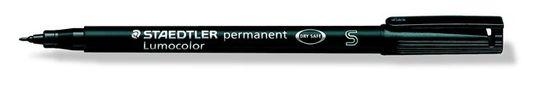 """Staedtler Permanentní popisovač """"Lumocolor 313 S"""", černá, 0,4mm, OHP"""