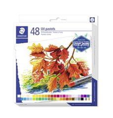 """Staedtler Olejové pastely """"""""Design Journey"""""""", sada, 48 barev"""