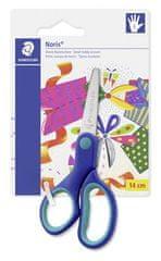 """Staedtler Nůžky """"Noris Club"""", modré, dětské, 14 cm, pro leváky"""