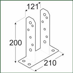 DOMAX Kotviaca pätka PST 120