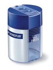 Staedtler Ořezávátko, na 2 tužky, se zásobníkem na odpad, modré