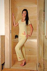 Andrie PS 9170 dámské pyžamo Barva: červená, Velikost oblečení: XL