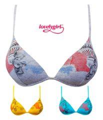 Lovelygirl 7950 dámská podprsenka Barva: tyrkysová, Velikost oblečení: 70B