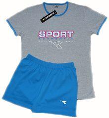 Diadora 62124 dámské pyžamo Barva: modrá, Velikost oblečení: S