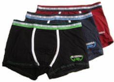 Diadora 815 chlapecké boxerky Barva: černá, Velikost oblečení: 7-122