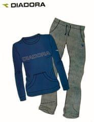 Diadora 62172 dámská tepláková souprava Barva: modrá, Velikost oblečení: S