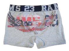 Primal 4127 chlapecké boxerky Barva: šedá melanž, Velikost oblečení: 6-116