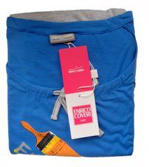 Enrico Coveri dámské pyžamo 6654 Barva: modrá, Velikost oblečení: L