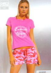 Enrico Coveri dámské pyžamo 6656 Barva: růžová, Velikost oblečení: L
