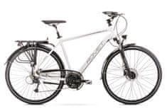 Romet Wagant 8 2020 treking kolo, XL, črno-belo