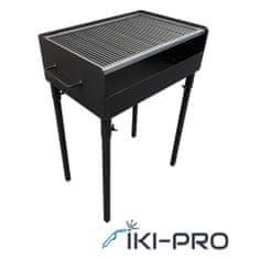 IKI-PRO Žar na oglje 60 x 40 black