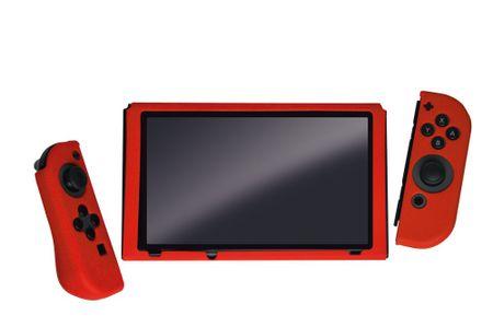 Steelplay silikonski ovitek za Switch, rdeč