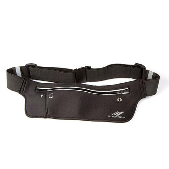 Rucanor Running waist bag light weight opasek, černá