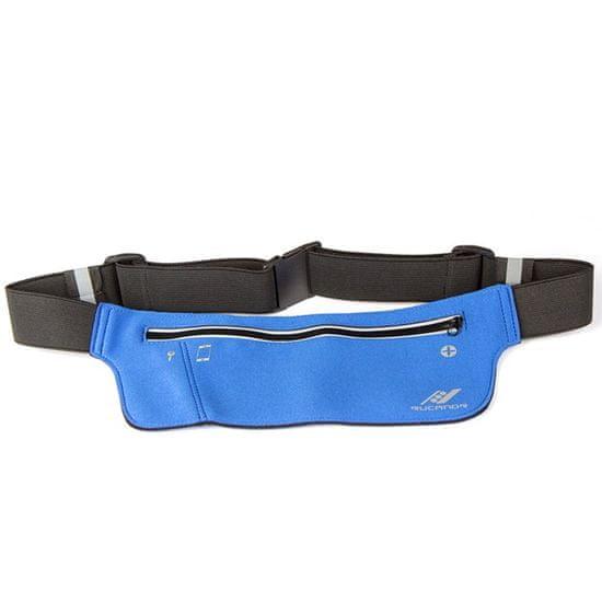 Rucanor Running waist bag light weight opasek, modrá