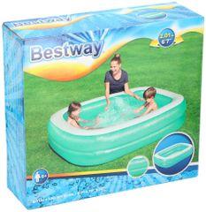 Bestway obiteljski bazen Plavi kvadrat