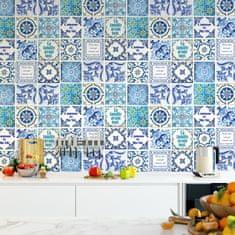 Walplus Samolepky na zeď Francouzská klasika modrá