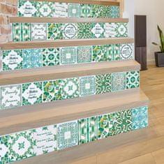 Walplus Samolepky na stenu Anglický vintage zelená