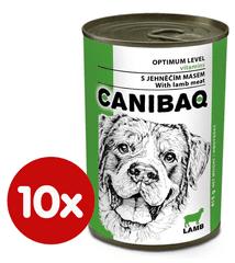 Dibaq CANIBAQ Classic jehněčí 10x415 g