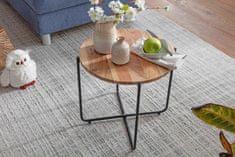 Bruxxi Odkladací stolík Cant, 42 cm, agát