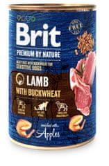 Brit Karma Premium by Nature Lamb with Buckwheat 6x400 g