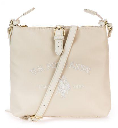 U.S. POLO ASSN. torebka crossbody Patterson Crossbody Bag, kremowy
