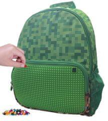 Pixie Crew kreativni ruksak za slobodno vrijeme Minecraft, zeleni