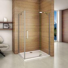 H K Štvorcový sprchovací kút AIRLINE A1