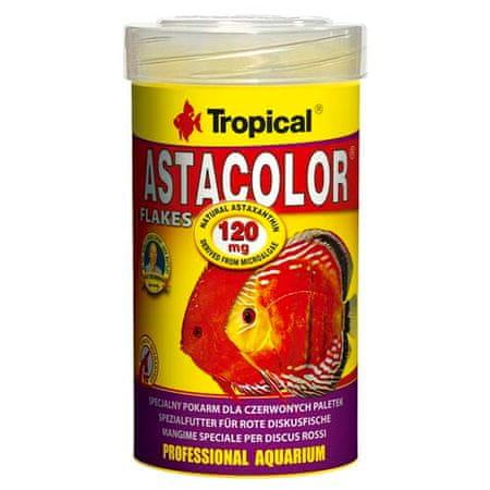 TROPICAL Astacolor 100ml/20g speciális haltáp piros diszkoszhalaknak