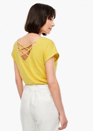 s.Oliver koszulka damska 05.006.32.5309 36 żółta