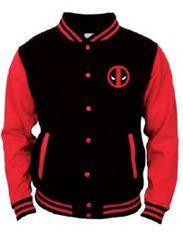 TIMECITY Mikina Deadpool - College Jacket (velikost L)