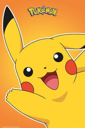 Plakat Pokémon - Pikachu