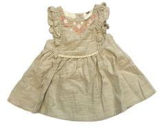 Orchestra Béžové kojenecké šaty Orchestra Velikost: 3 měsíce