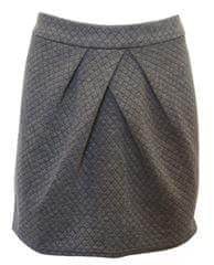 Bonobo Jeans Prošívaná sukně Bonobo Šedá XL