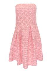 Cache cache Retro šaty CACHE CACHE Barva: Růžová, Velikost: L