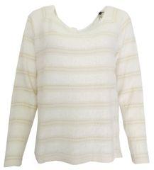 Bréal Bílozlatý svetřík Bréal Bílá L