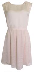 NAFNAF Světle růžové šaty Naf Naf Velikost: M