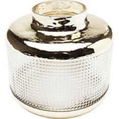 KARE Čirá skleněná váza LA Visible 19cm