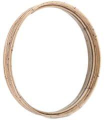 Sifcon Zrcadlo KASBAH, ratanové, kulaté ø 39 cm