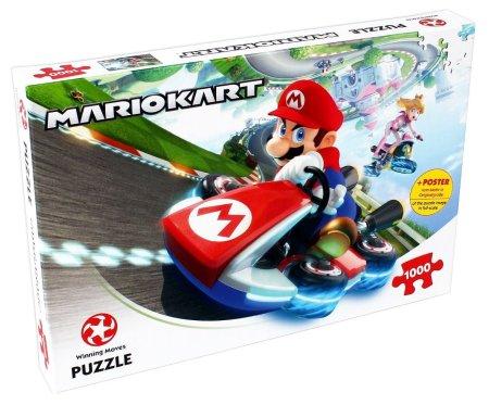 Winning Moves Mario Kart Funracer sestavljanka, 1000 delov